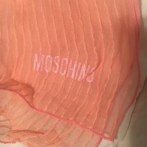 Ombre Pink Moschino Scarf